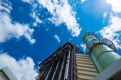 Centrale elettrica del ciclo del Combine Fotografie Stock Libere da Diritti