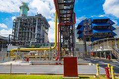 Centrale elettrica del ciclo del Combine Immagini Stock Libere da Diritti