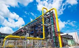 Centrale elettrica del ciclo del Combine Immagine Stock
