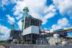 Centrale elettrica del ciclo del Combine Immagini Stock