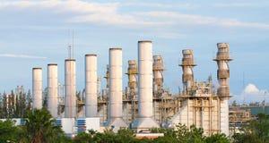 Centrale elettrica del generatore Immagine Stock