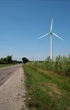 Centrale elettrica del terreno coltivabile Fotografie Stock Libere da Diritti