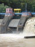 Centrale elettrica dell'acqua Immagini Stock Libere da Diritti