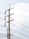 Centrale elettrica della centrale elettrica elettrica Fotografia Stock