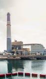 Centrale elettrica della lettura Fotografia Stock