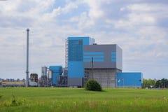 Centrale elettrica della nuova generazione Fotografia Stock