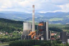 Centrale elettrica di Bärnbach Immagini Stock Libere da Diritti