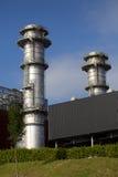 Centrale elettrica di Boroa, Amorebieta Fotografia Stock