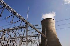 Centrale elettrica di calore Immagine Stock
