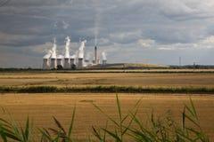 Centrale elettrica di Drax Fotografia Stock