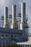Centrale elettrica di energia geotermica di Svartsengi - Islanda Fotografia Stock