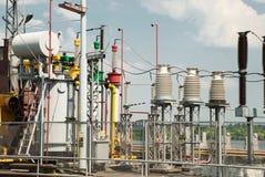 Centrale elettrica di energia idroelettrica di Kanev, Ucraina Immagine Stock Libera da Diritti