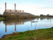 Centrale elettrica di Huntly fotografia stock
