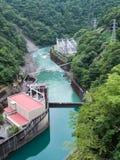 Centrale elettrica di idro di Ikawa Immagini Stock