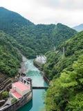 Centrale elettrica di idro di Ikawa Fotografia Stock