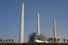 Centrale elettrica di Orot Rabin Fotografia Stock