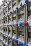 Centrale elettrica di sostegno industriale Fotografia Stock