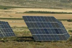 Centrale elettrica di Sun Fotografia Stock