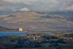 Centrale elettrica di Trawsfynydd Fotografia Stock Libera da Diritti