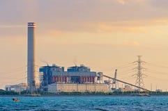 Centrale elettrica elettrica Fotografie Stock Libere da Diritti
