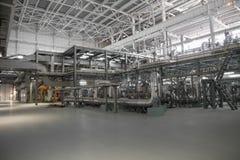 Centrale elettrica elettrica, dentro Fotografie Stock Libere da Diritti