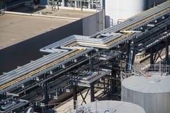 Centrale elettrica elettrica, fuori Fotografia Stock