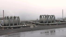 Centrale elettrica geotermica archivi video