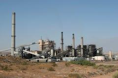 Centrale elettrica industriale Immagini Stock Libere da Diritti