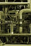 Centrale elettrica industriale Immagini Stock