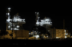 Centrale elettrica industriale Fotografia Stock Libera da Diritti