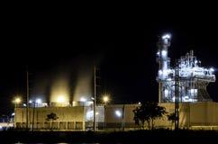 Centrale elettrica industriale Fotografia Stock
