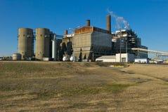 Centrale elettrica infornata carbone Immagini Stock Libere da Diritti