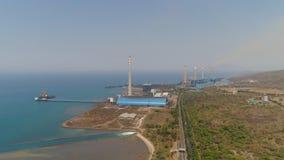 Centrale elettrica Java, Indonesia fotografia stock libera da diritti