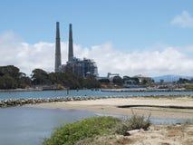 Centrale elettrica moderna Fotografia Stock Libera da Diritti