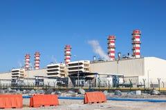 Centrale elettrica moderna Immagine Stock