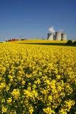 Centrale elettrica in natura Fotografia Stock