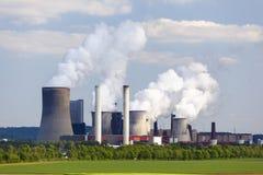 Centrale elettrica Niederaussem Immagine Stock