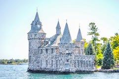 Centrale elettrico al castello di Boldt, mille isole fotografie stock