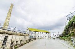 Centrale elettrico di Alcatraz, San Francisco, California Fotografie Stock