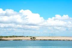 centrale eolic photographie stock libre de droits