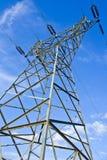 Centrale et lignes électriques Image libre de droits