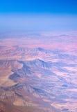 Centrale Fuerteventura van de lucht Stock Fotografie
