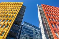 Centrale Heilige Giles is een mengen-gebruiksontwikkeling in centraal Londen, dat door Renzo Piano wordt ontworpen Stock Afbeelding