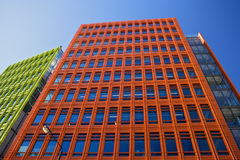 Centrale Heilige Giles is een mengen-gebruiksontwikkeling in centraal Londen, dat door Renzo Piano wordt ontworpen Royalty-vrije Stock Afbeeldingen