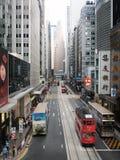 Centrale a Hong Kong Fotografia Stock Libera da Diritti