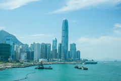 Centrale, Hong Kong Fotografia Stock