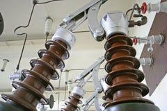 Centrale hydraulique Image libre de droits