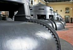 Centrale hydraulique - réacteurs Photo stock