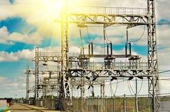Centrale hydroélectrique Photo libre de droits