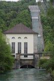 centrale hydroélectrique images stock